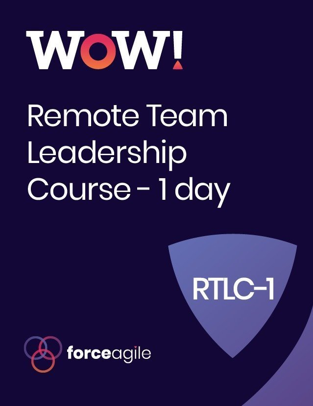 WoW! Remote - Force Agile Course