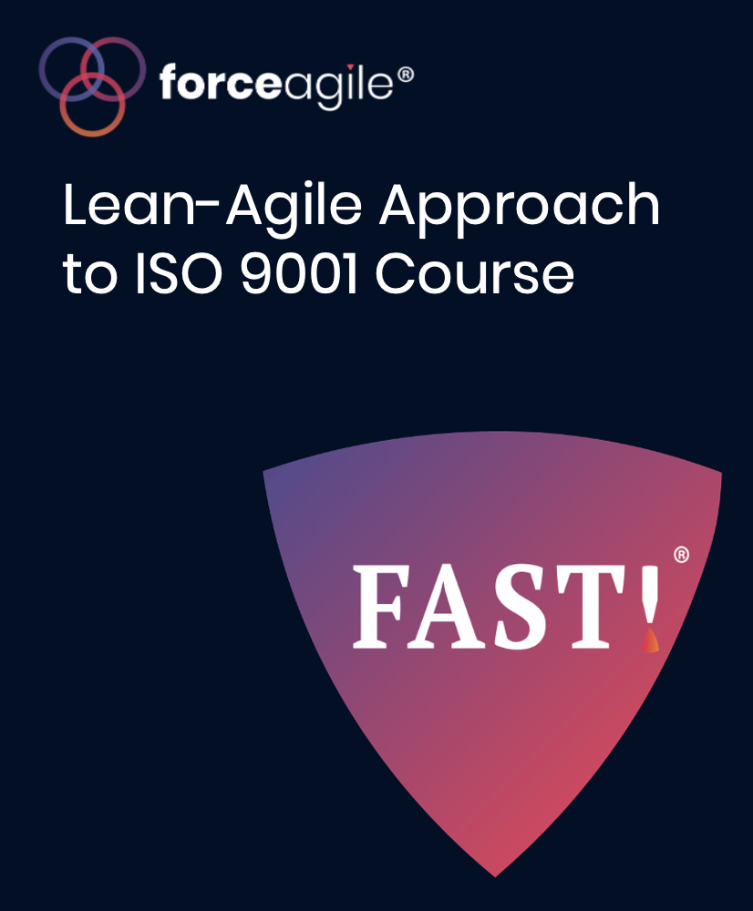 Lean-Agile Approach to ISO 9001 Course
